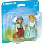 Set 2 Figurine - Printesa si Slujnica Playmobil