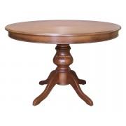 Artigiani veneti riuniti Table à manger ronde extensible - diamètre 100 cm