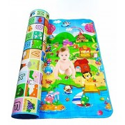 Glive's Educational Playing Double Side Baby Play Crawl Floor Mat Baby (90 * 120 cm)