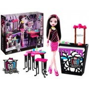 Monster High Papusa Draculaura Si Setul De Joaca Cafenea DNP33