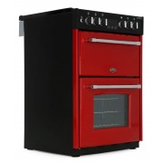 Belling Farmhouse 60DF Jalapeno Dual Fuel Cooker - Red