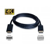 1.8 Meter Passive DisplayPort to HDMI Cable 4K / Ultra HD / 1080p