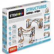 Конструктор Енджино СТЕМ - Сгради и мостове - Engino, 150030