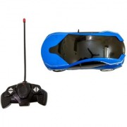 Amazing Remote Control 3D lighting Effect Racing Car With 4 Functions (Forward Backward left right) For Kids (multico