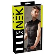 NEK Powernet Zipper Muscle Top T Shirt Black 2161087