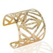 Dames Cuff armbanden Modieus Legering Buisvorm Zilver Gouden Sieraden Voor Bruiloft Feest Dagelijks Causaal 1 stuks