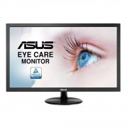 "Monitor 21.5"" ASUS VP228DE, FHD, TN, 16:9, 1920*1080, 60hz, WLED, 5 ms, 200 cd/m2, 90/65, 100M:1, Low Blue Light, Flicker Free, D-SUB, Kensington"