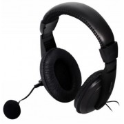 Casti cu Microfon Spacer SPK-222, Wireless (Negru)