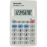 Calculator de buzunar, 8 digits, 103 x 60 x 8 mm, SHARP EL-233S