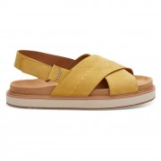 Toms Sandály Toms Marisa electric yellow nubuc