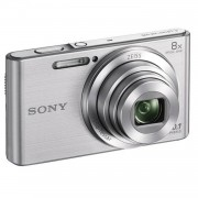 SONY DSC-W830 Grijs - CCD 20 MP Zoom 8x compacte digitale camera