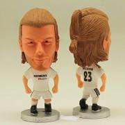 "Pi² Football Star Soccer Player 23# David Beckham(Real Madrid 2005) 2.5"" Action Figure"