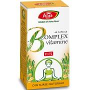 B Complex vitamine naturale F172 x 60 capsule Fares