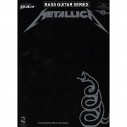 Music Sales Metallica - Black Album BASS Bass TAB