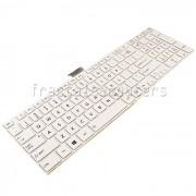 Tastatura Laptop Toshiba Satellite C55-A-142 alba