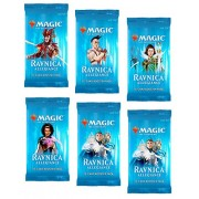6 (Six) Booster Packs of Magic: The Gathering: Ravnica Allegiance (6 Pack - RNA Booster Draft Lot)