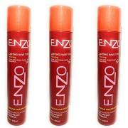 Enzo Hold Hair Sprays 420 mL Pack of 3