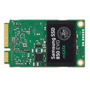 Твърд диск Samsung SSD 850 EVO mSATA 1TB Read 540 MB/sec, Write 520 MB/sec, 3D V-NAND, MЕX controller, MZ-M5E1T0BW