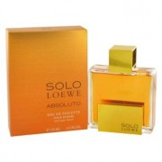 Loewe Solo Absoluto Eau De Toilette Spray 4.3 oz / 127.17 mL Men's Fragrance 492380