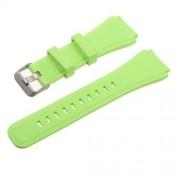 Pót szíj - szilikon - SAMSUNG Galaxy Watch 46mm / SAMSUNG Gear S3 Classic / SAMSUNG Gear S3 Frontier - ZÖLD