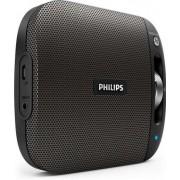 Boxa Portabila Philips BT2600B, 4 W, Bluetooth, Multipair (Negru)