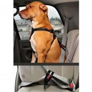 Cinturón de Seguridad de Auto para Perro Ezydog-Negro..