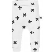 Babystyling Crosses broekje 50 (wit)