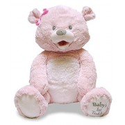 "Cuddle Barn Baby's 1st Singin Teddie 15"" Teddy Bear Sings ""You Are My Sunshine"" (Pink)"
