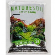 Nature Soil by Oliver Knott Zwart 10 Liter Zwart Normaal (4-5mm)