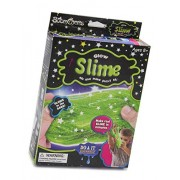ShopNGift DIY Education Chemistry Experiments Slime Making Kit Fun for kids Kinetic Slime Kit Make Your Own Glow in dark Slime! Includes Everything You Need! Twist and Create Magical Slime! (Glow Slime)