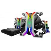 Kit Ventilatoare Deepcool GamerStorm MF120, 120mm, 3 buc. (Led RGB)