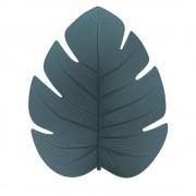 Pôdevache Jangalo - Tapis vinyle vert eucalyptus forme feuille