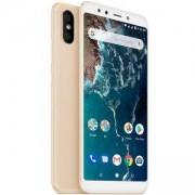 Смартфон Xiaomi Mi A2 4/32 GB Dual SIM, 12 MP/ 20 MP, ANDROID, Златист, MZB6466EU