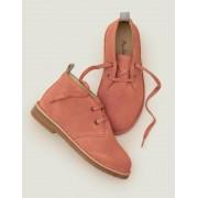 Mini Rosa Desert Boots zum Schnüren Mädchen Boden, 25, Pink