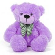 2 Feet Purple Teddy Bear with a Bow