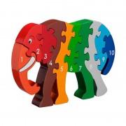 Lanka Kade Puzzle Éléphant 1-10 en bois Lanka Kade