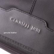 Cerruti 1881 Messenger Bag - луксозна дизайнерска чанта с презрамка за преносими компютри до 15 инча (черна)