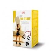 SISSEL® FIT TUBES Elastico con maniglie rosso (medio) in scatola