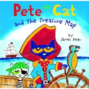 Pete the Cat and the Treasure Map, Hardcover/James Dean