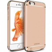Husa Baterie Ultraslim iPhone 6 Plus/6s Plus iUni Joyroom 3500mAh Gold