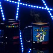 Taza Magica de ceramica Super Nintendo Super Mario world Heat Change Mug