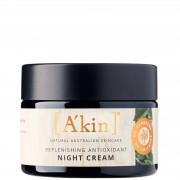 A'kin Facial Care Reintegro notte antiossidante crema 50ml