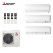 Mitsubishi Electric Trial Split Inverter Kirigamine 9+9+18 Con Mxz-3d68va