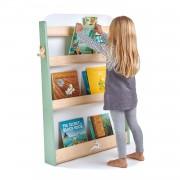 Raft pentru carti copii, din lemn premium