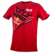Kini Red Bull Ribbon T-shirt XL Röd
