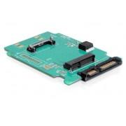 """Scheda Convertitore da SATA 22 pin a mSATA Alloggiamento 2.5"""""""