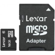 Lexar mobile 16 GB MicroSD Card Class 10 Memory Card(With Adapter)