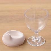 ≪レアーレ≫グラス型コップ ピンク