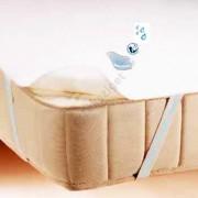 Vízhatlan sarokpántos antiallergén ágyvédő frottírlepedő, Sabata, 90x190 cm