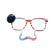 Bril met snor Amerika